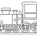 Coloring Page Of Train Engine