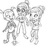 Vampirina Coloring Pages Online