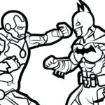 Coloring Pages Of Superman And Batman