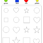 Coloring Pages For Preschoolers Shapes