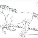 Coloring Pages Of Horses Running