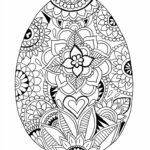 Easter Coloring Pages Printable For Adults