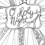 Christian Christmas Coloring Pages For Adults