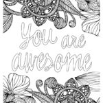 Coloring Pages Inspirational Quotes