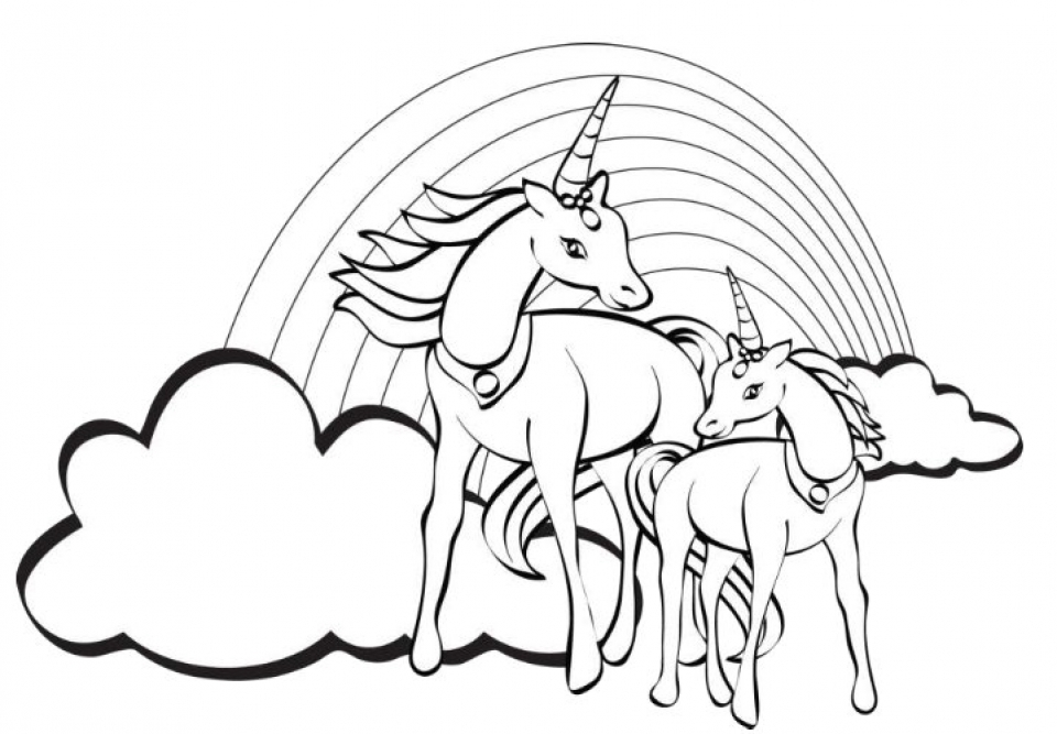 20+ Free Printable Unicorn Coloring Pages ...