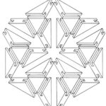 Geometric Shapes Coloring Pages Printable