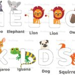 Alphabet Animal Coloring Pages Pdf