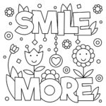 Funny Sayings Coloring Pages