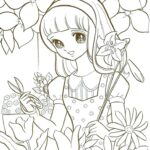 Japanese Manga Coloring Pages