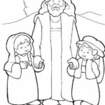 Bible Coloring Pages Jesus Loves Me