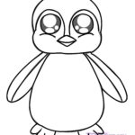 Free Printable Penguin Coloring Pages