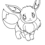 Coloring Pages Pokemon Eevee