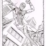 Spider Man Homecoming Free Coloring Pages