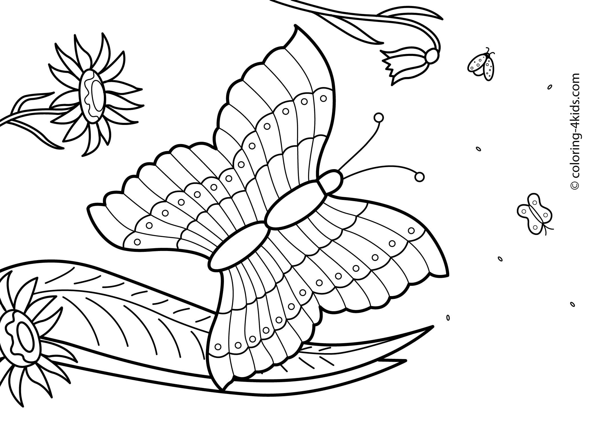 27 Summer season coloring pages part 2 | Free Printables
