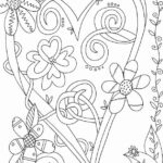Full Page Valentines Day Coloring Pages For Adults