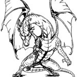 Coloring Pages Knights And Dragons