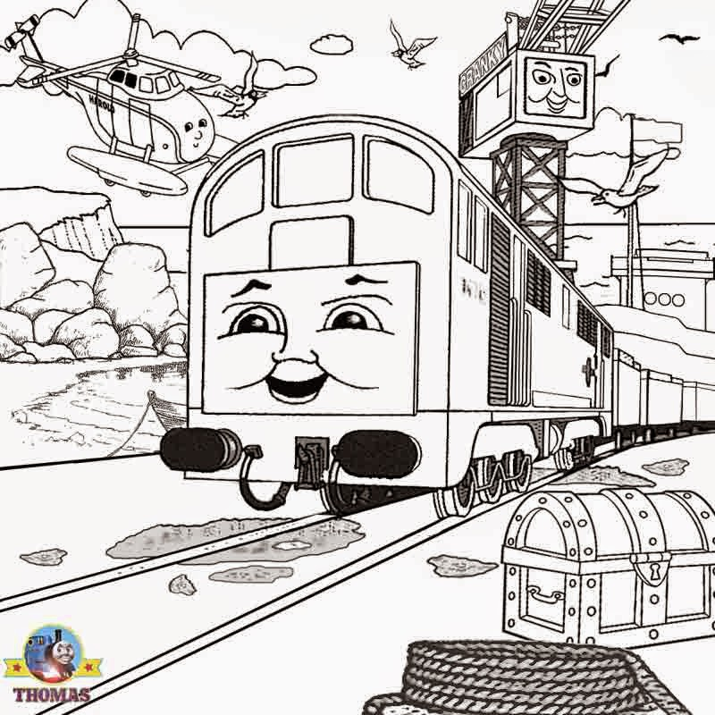 Coloring Pages: Thomas the Tank Engine Coloring Pages Free ...