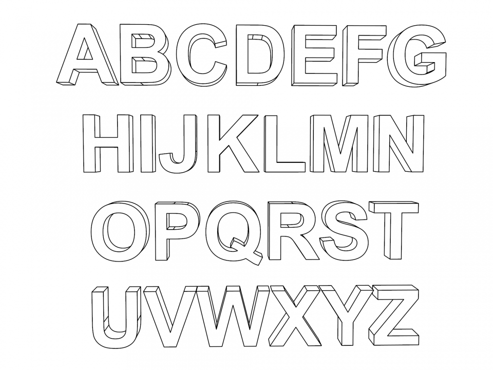 Get This Alphabet Coloring Pages for Kids 49782