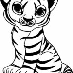 Free Coloring Pages Cute Baby Animals