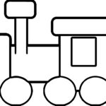 Coloring Book Pages Of Trains