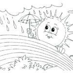 Weather Coloring Pages Free