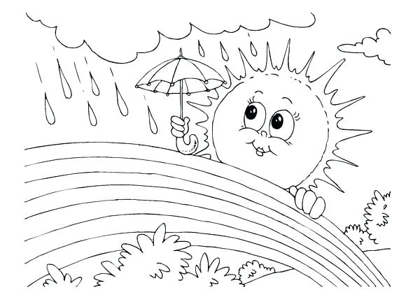 Weather Coloring Pages at GetDrawings   Free download