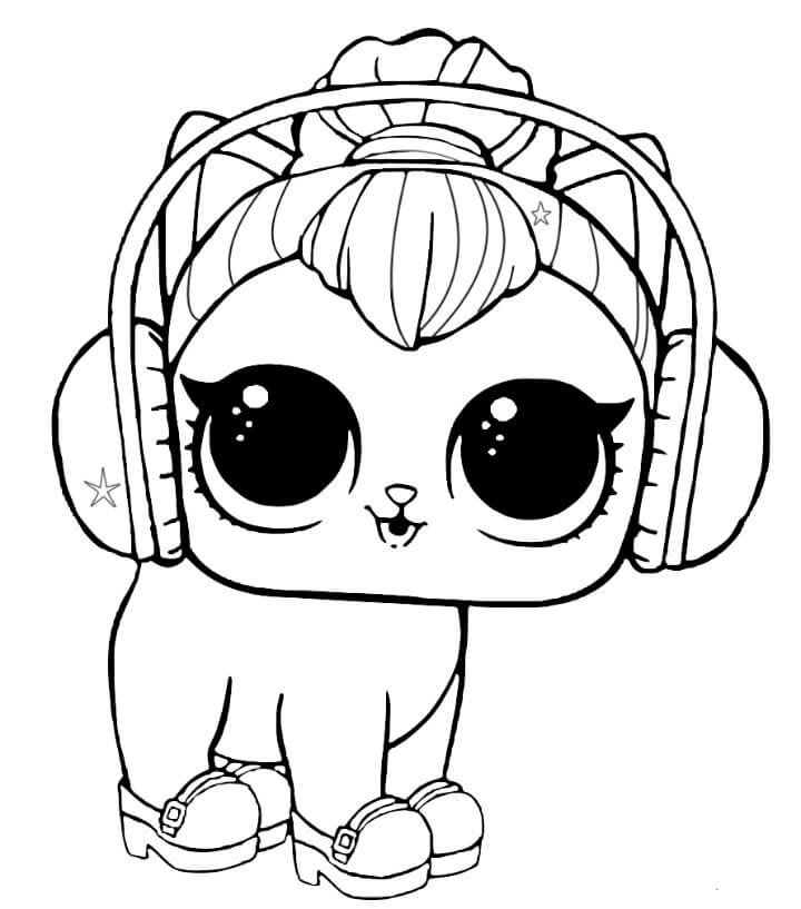 15 Free Printable Lol Surprise Pets Coloring Pages