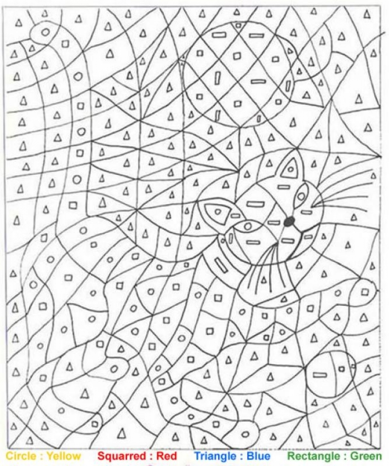 Get This Difficult Color by Number Pages for Grown Ups BG64S