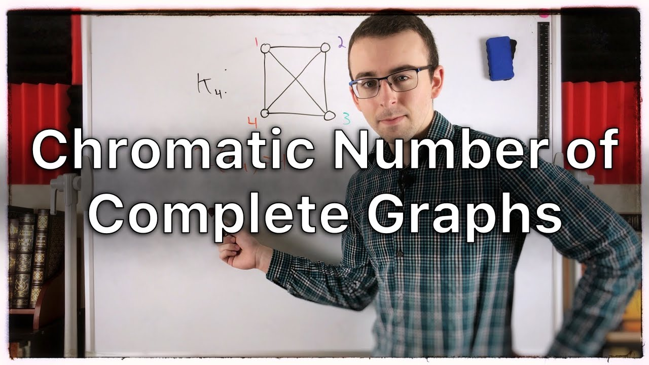 Chromatic Number of a Complete Graph | Graph Theory - YouTube