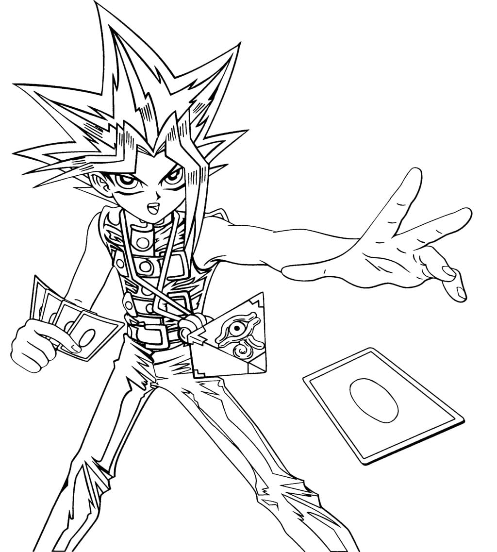 Yugioh Coloring Pages - NEO Coloring