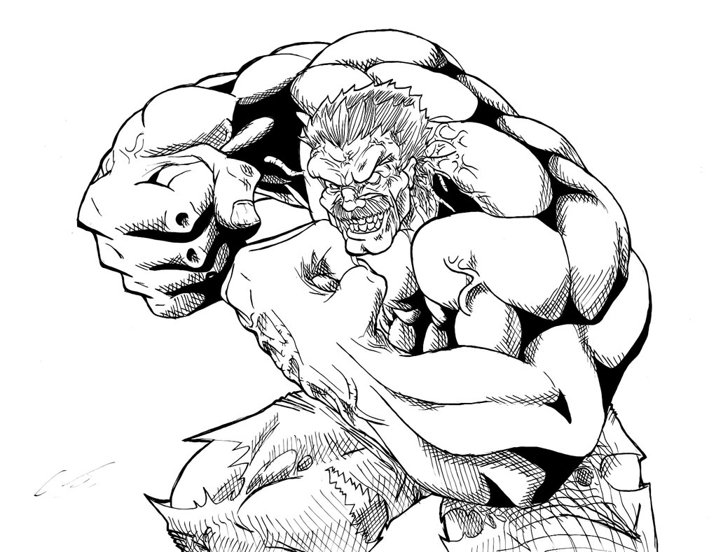 Red Hulk Coloring Pages at GetColorings.com | Free ...